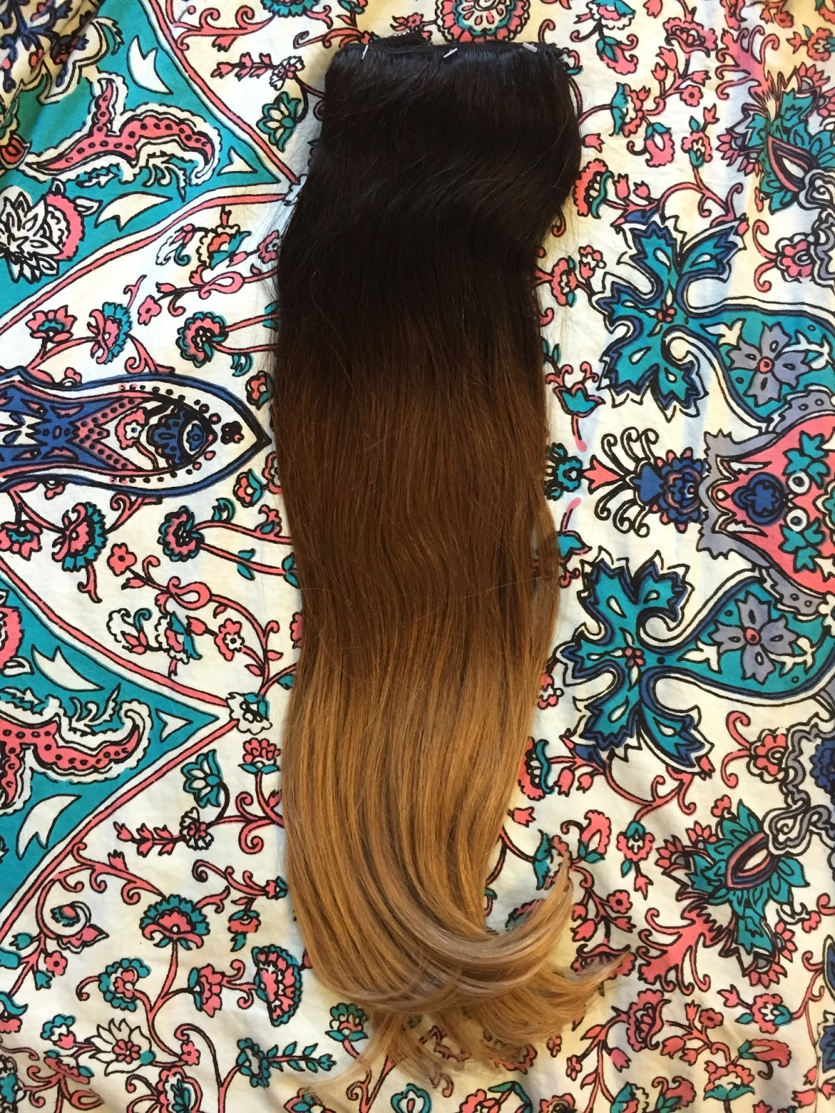 Makeup By Jasmine Dirty Looks Oh My Ombre Hair Extensions Review