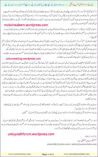 essay on pollution in urdu