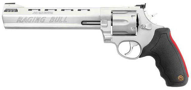 Taurus Raging Bull 44 Magnum http://voices-of-iowa.blogspot.com/2012/08/weapons-for-daddies.html
