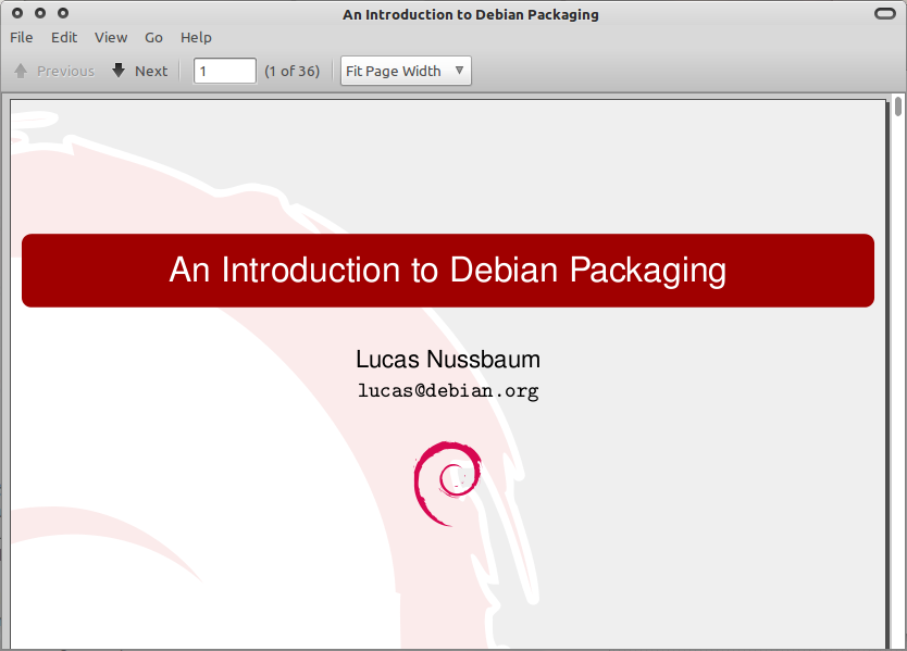 Ebook: An Introduction to Debian Packaging