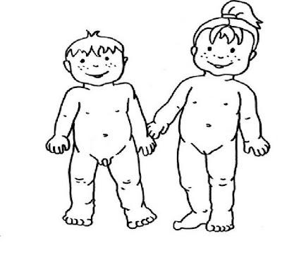 Páginas para colorir O corpo humano Educolorir  - imagens para colorir corpo humano