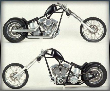 Mini Moto Harley Davidson A Gasolina