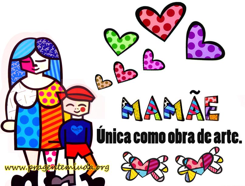 Painel para Dia das Mães - Romero Britto