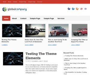 VectorMade WordPress Theme