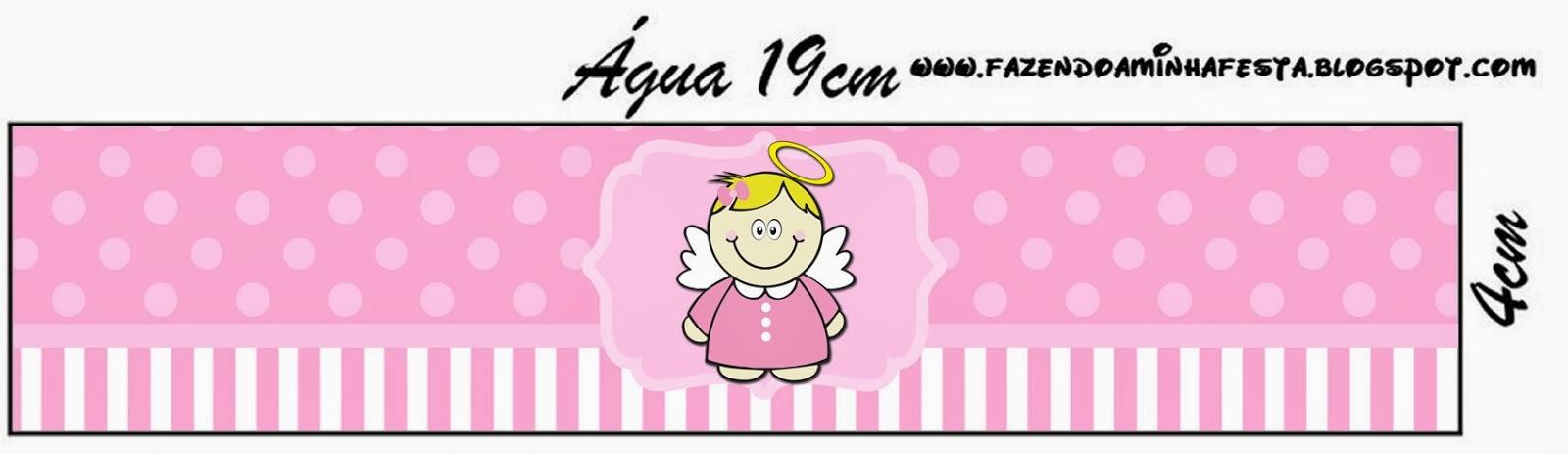 Bautismo Angelita Rubia Etiquetas para Imprimir Gratis  Ideas y