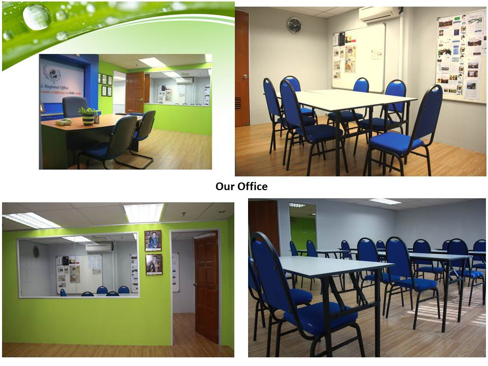 Our regional office 大学亚太区办事处