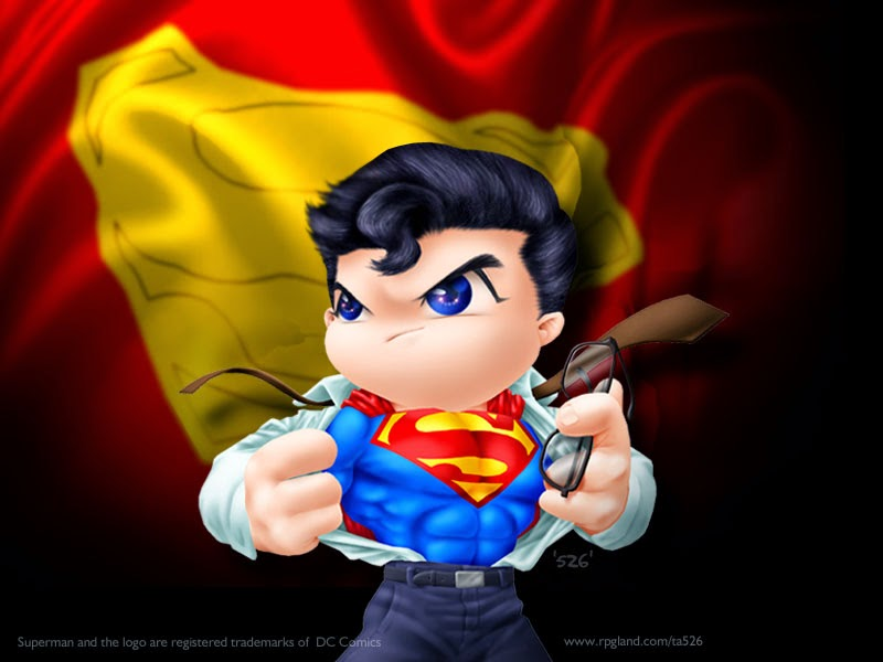 Gambar Kartun Superman Cartoon Wallpaper