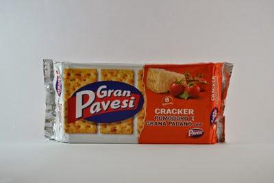 Cracker pomodoro grana padano