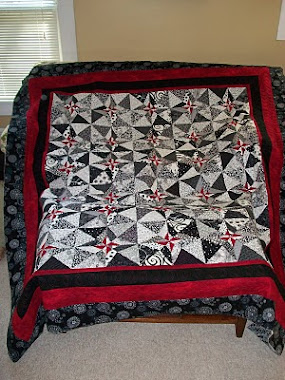 2011 raffle quilt for my home guild