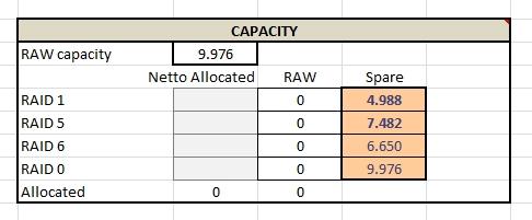 Hp Eva Capacity And Performance Calculator