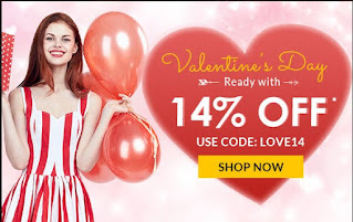 Rosegal Valentines day sale