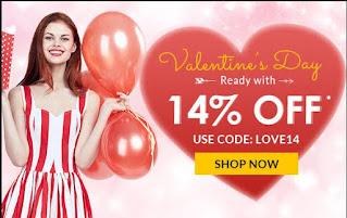 Rosegal Valentines day sale