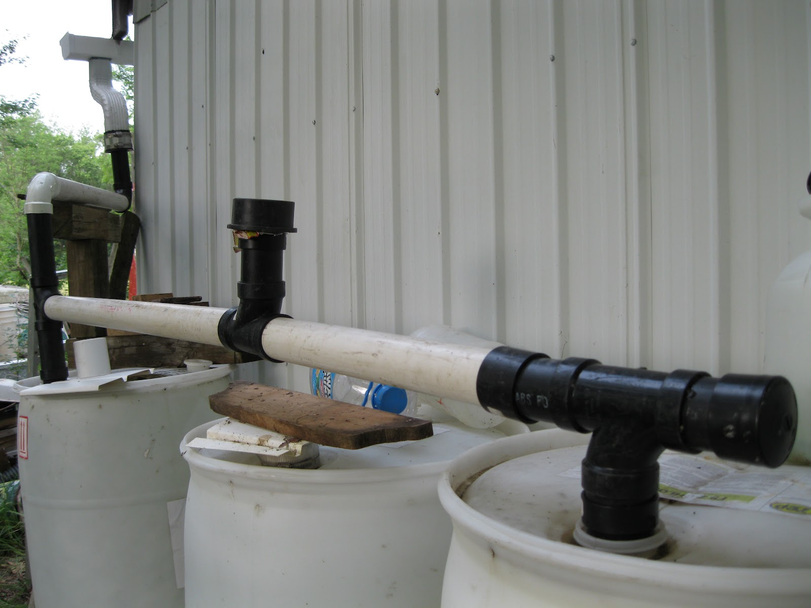 how to build a rain barrel cheap
