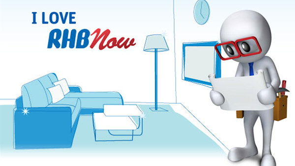 RHB Bank 'I Love RHB Now' Contest