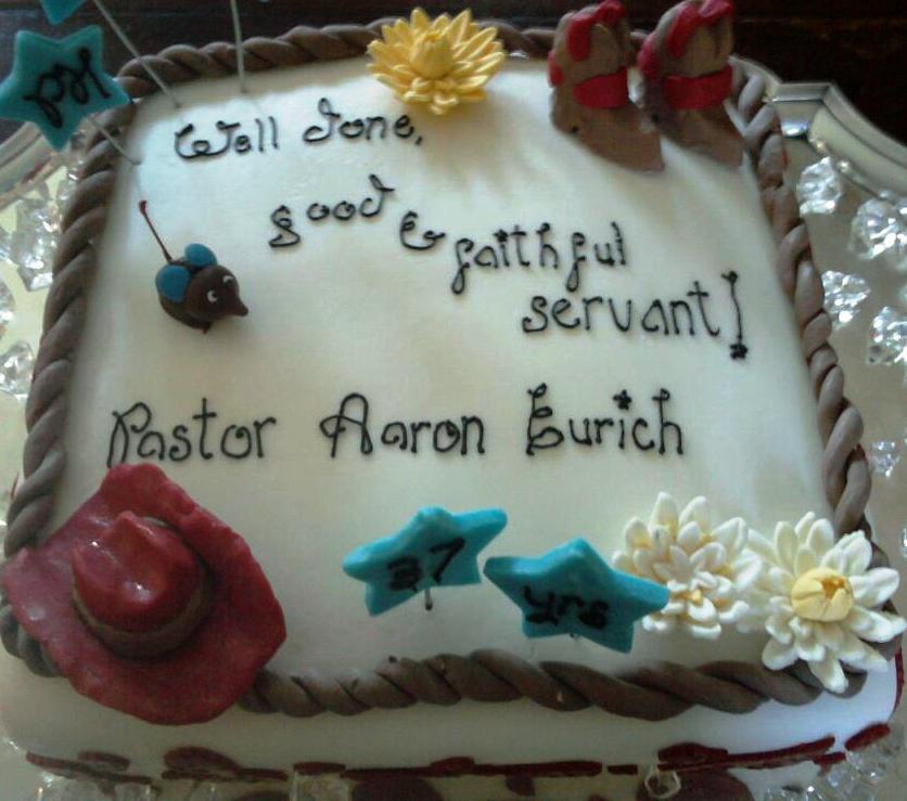 Aimeejo Desserts Pastors Retirement Celebration