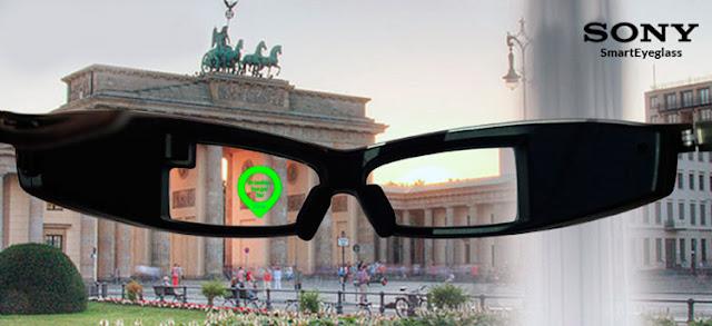 Sony SmartEyeGlass Smartglass ou óculos inteligentes