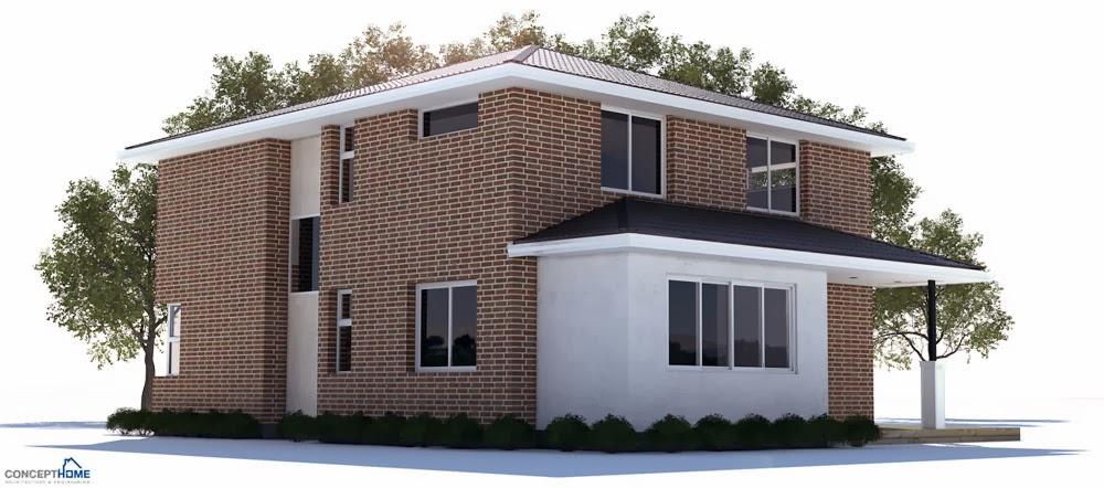 Australian house plans modern australian house plan ch235 for Modern australian house plans