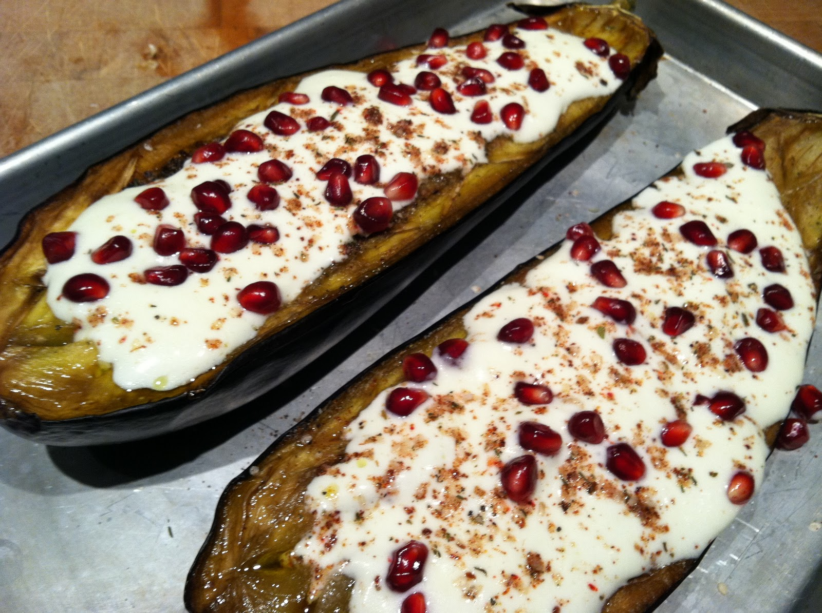 sauce eggplant with buttermilk sauce eggplant with buttermilk sauce ...