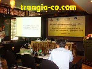 Tổ chức sự kiện Trần Gia - Cho thuê màn chiếu, máy chiếu