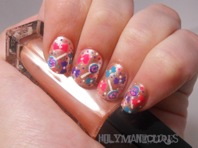 Holy Manicures Sweet Candy Nails