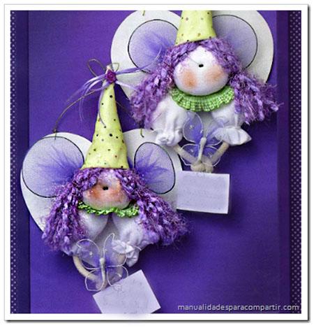 Manualidades para compartir haditas souvenirs infantiles for Manualidades con tela paso a paso