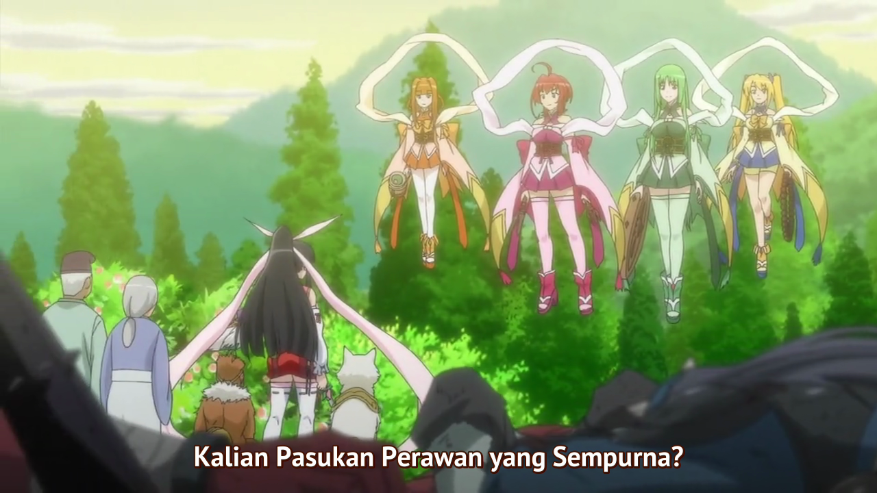 Momo Kyun Sword Episode 01 Subtitle Indonesia