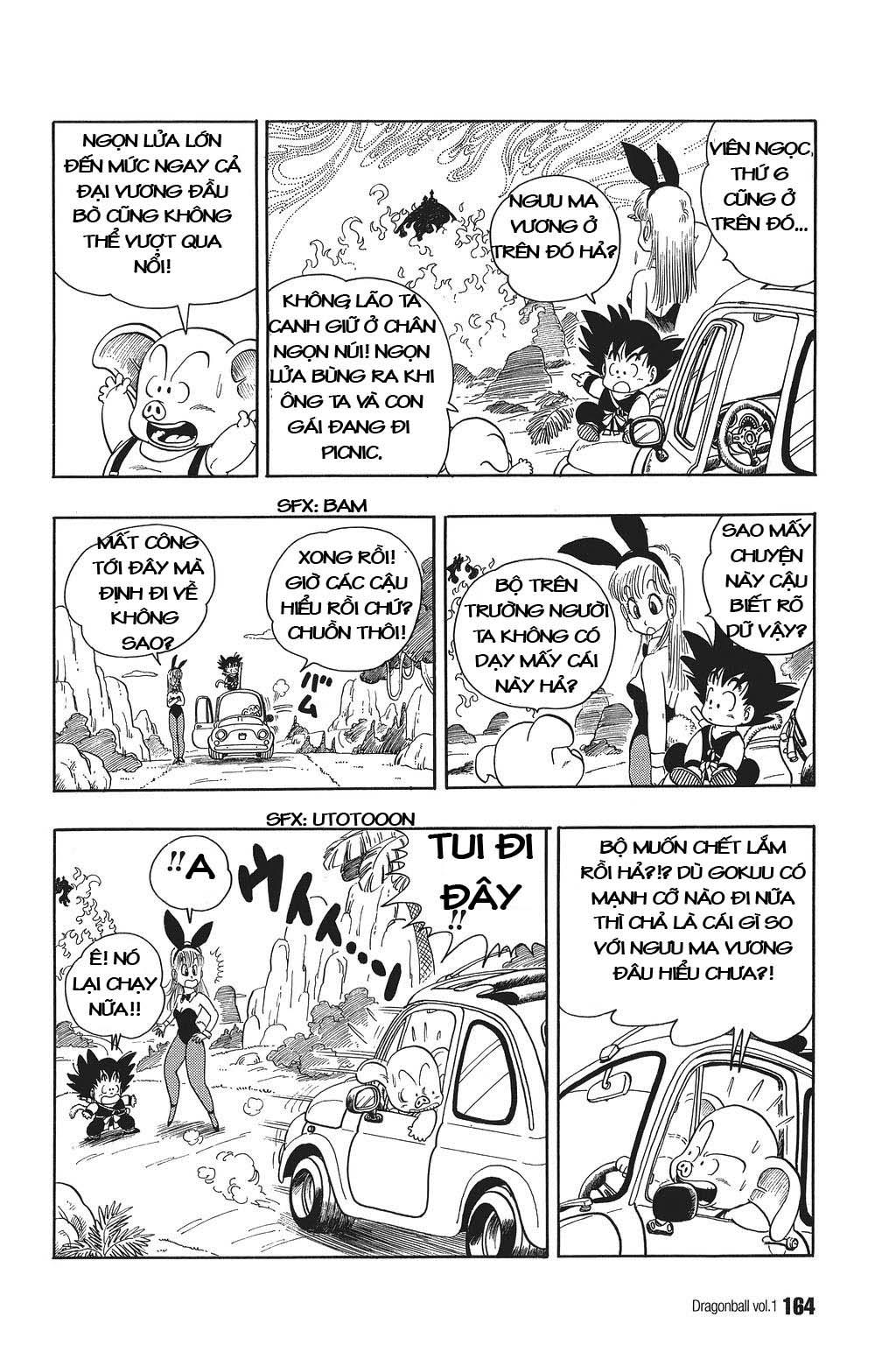 xem truyen moi - Dragon Ball Bản Vip - Bản Đẹp Nguyên Gốc Chap 11