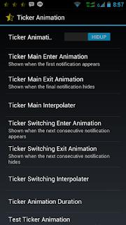 Cara Menambahkan Ticker Animation Android