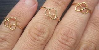 Bikin Sendiri LOVE RING - Cincin Hati Cantik dari Kawat