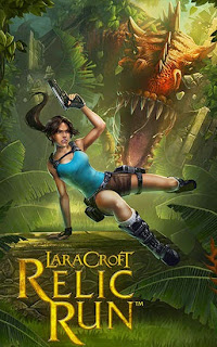 Screenshots of the Lara Croft: Relic run for Android tablet, phone.