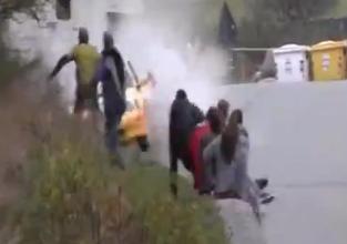 Increíble Accidente de Rally
