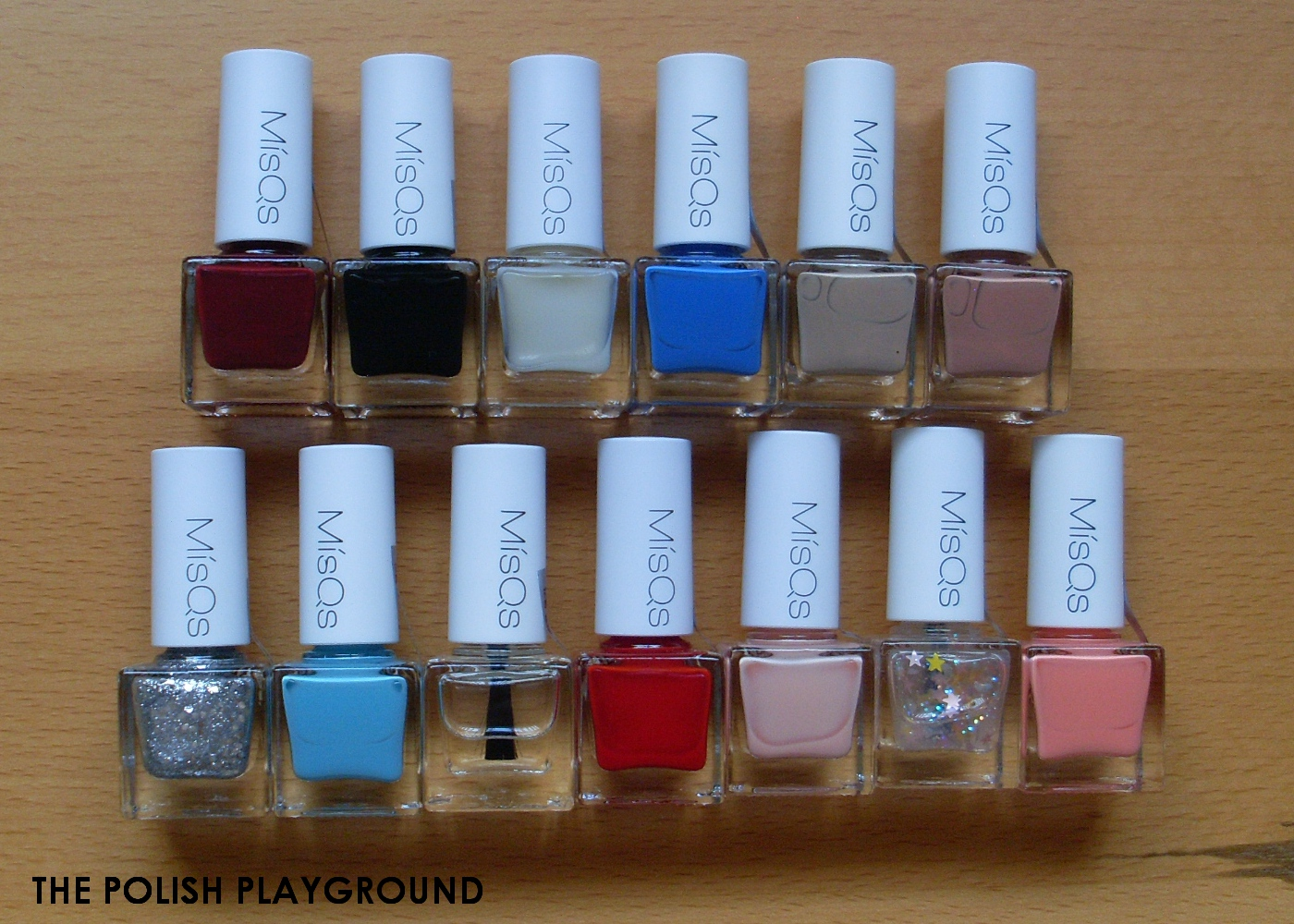 Wishtrend Haul - WISH BOX No.19 MisQs Nail Polish Box (Option 3 11 Colors + Gifts)