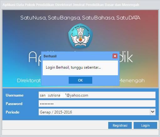 Update Aplikasi Dapodik Versi 4.1.1