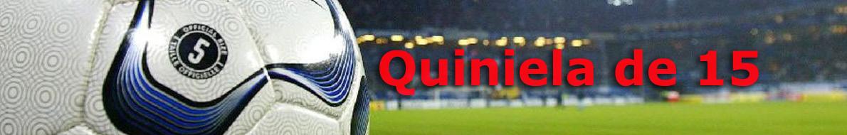 Quiniela de 15