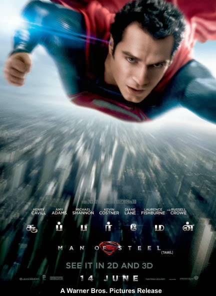 Watch Man Of Steel – Superman (2013) Tamil Dubbed Original BRRip Full Movie Watch online For Free Download