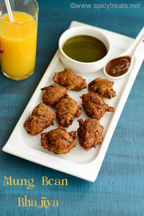 Mung Bean Bhajiya