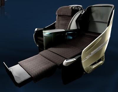 JAL SHELL FLAT NEO seats