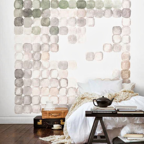 wall decoration - the round button blog