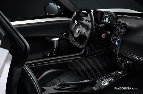 Alfa Romeo 4C Cockpit