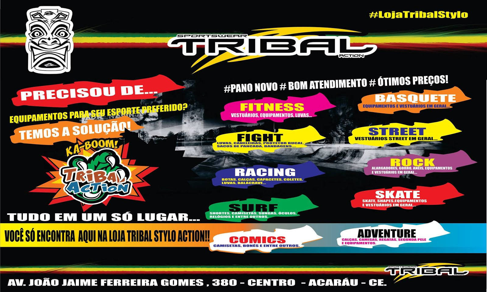 Loja Tribal/Acaraú - (88) 99692-1211