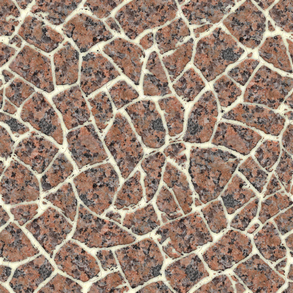 Added Seamless Marble Chips Texture