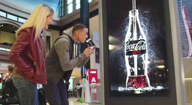 Coca cola Digital Signage