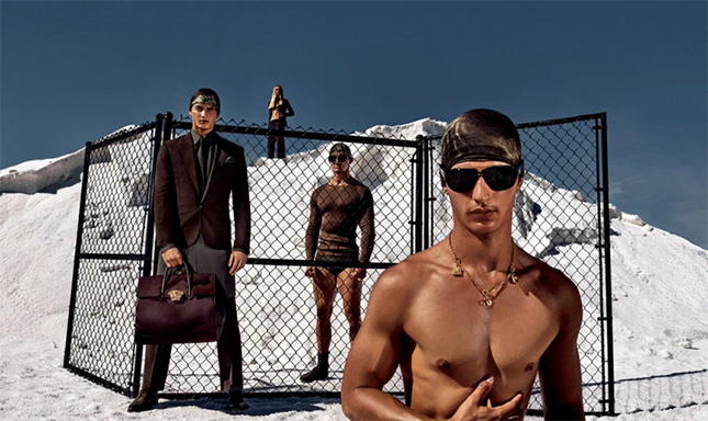 Versace Men's Spring/Summer 2016 Campaign
