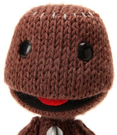 CAVEMEN GO: Little Big Planet Sackboy Knitted Plush