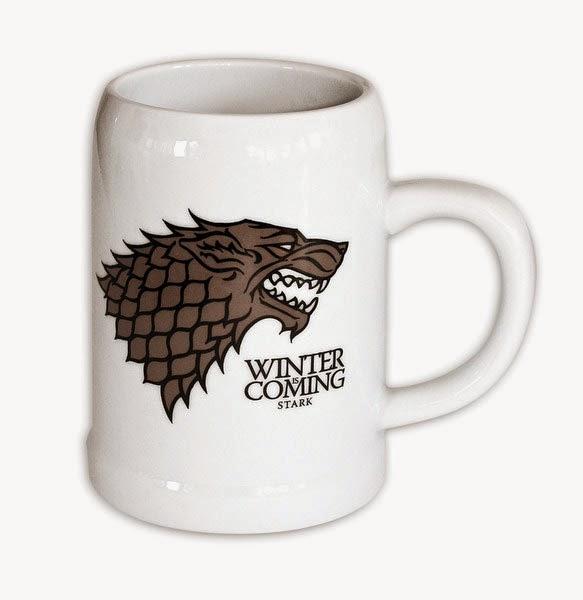 Jarra de Cerveza Juego de Tronos Casa Stark
