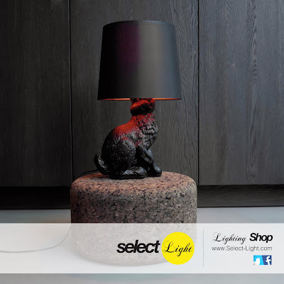 Rabbit Lamp by Moooi, lámpara conejo.