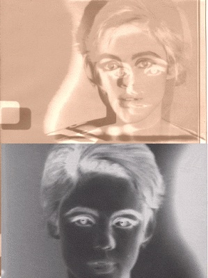 I made this for the now unavailable Warhol mooc from the University of Edinburgh.