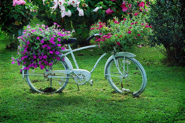 Декор в велосипедах своими руками
