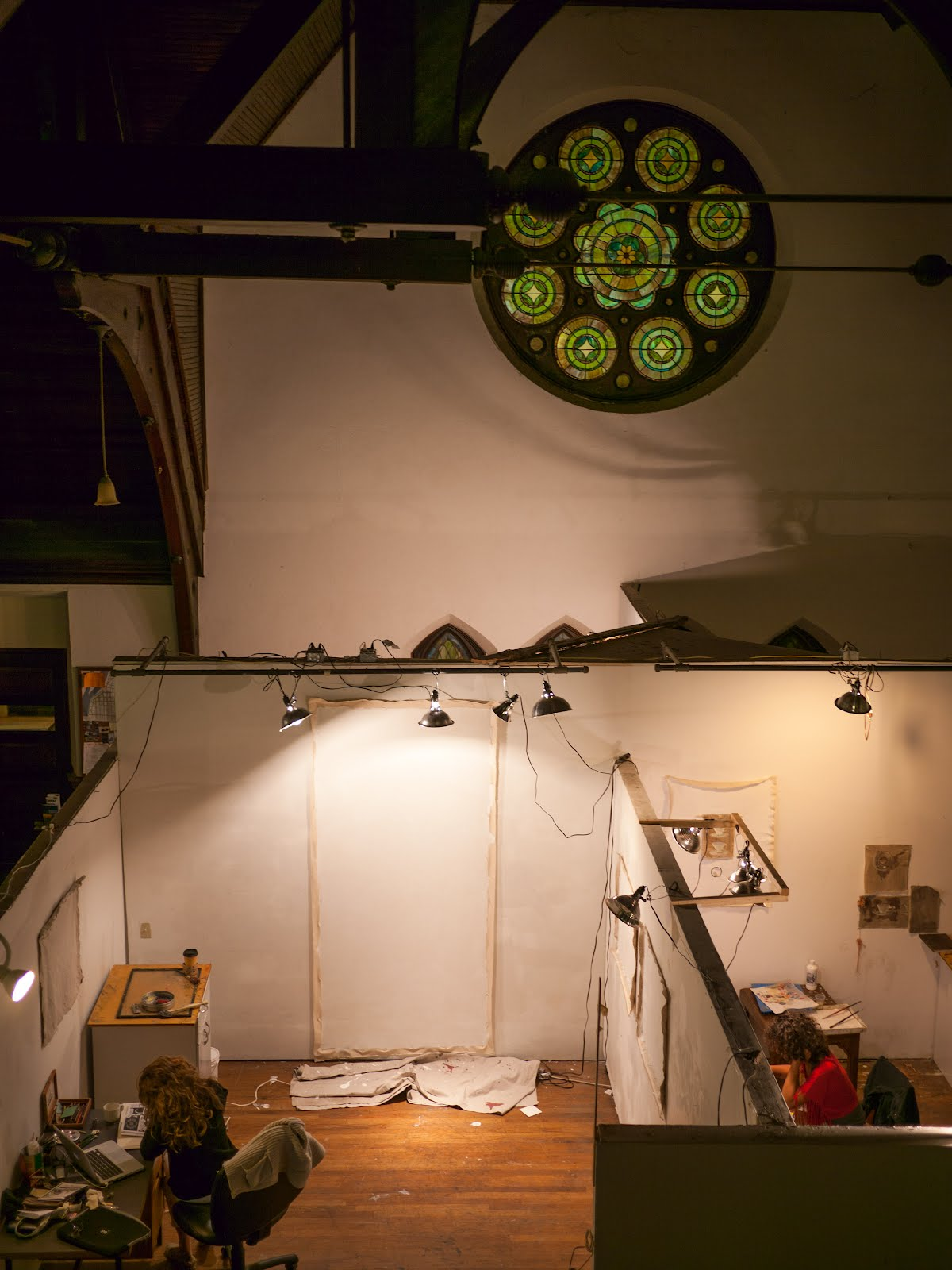 Inside, the new CAC studios