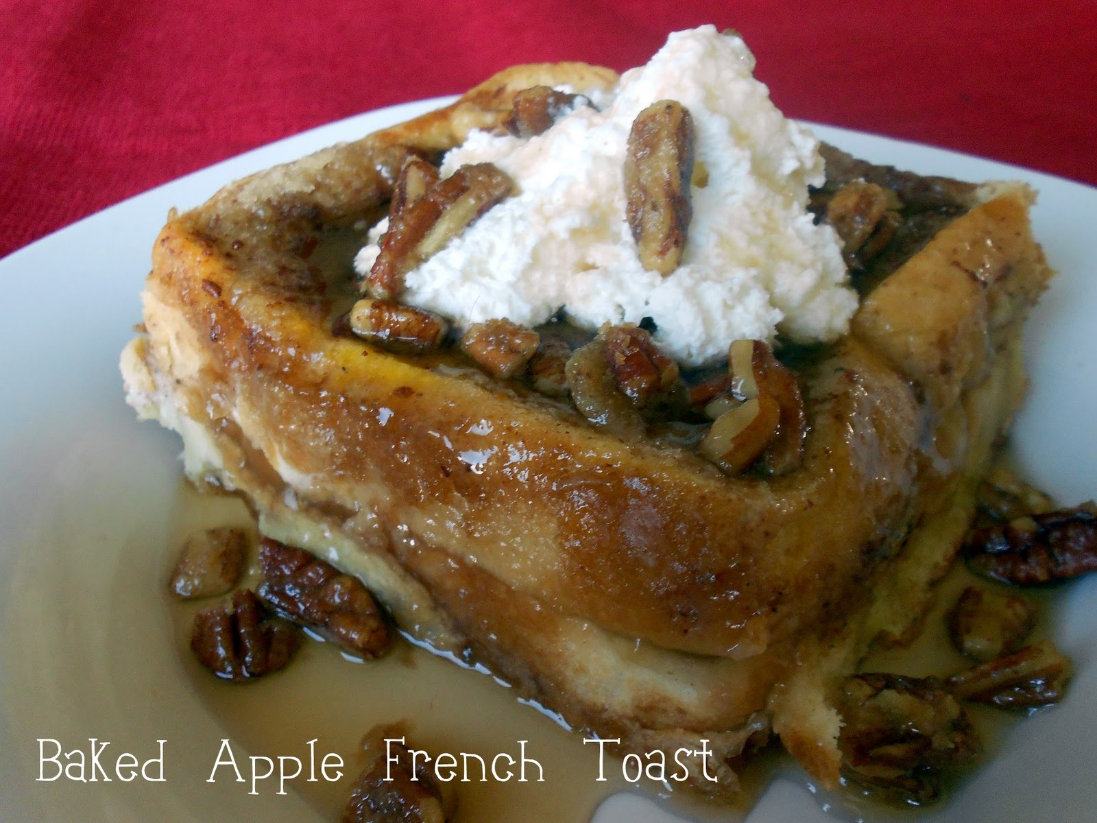 Baked Apple Pie French Toast Recipe | Six Sisters' Stuff